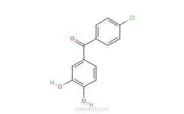 CAS:134612-84-3_4'-氯-3,4-二羟基二苯甲酮的分子结构
