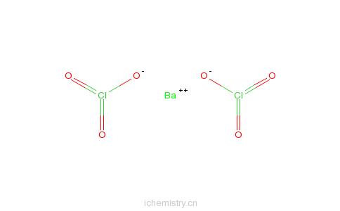CAS:13477-00-4_氯酸钡的分子结构