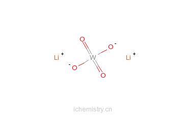 CAS:13568-45-1_钨酸锂的分子结构
