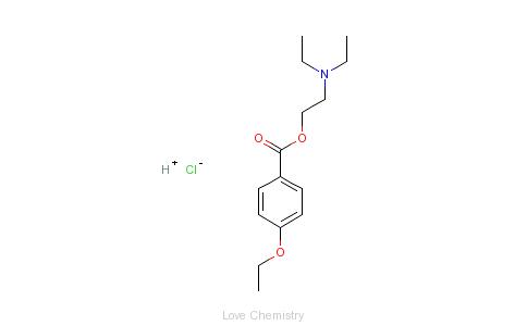 CAS:136-46-9_对乙氧卡因的分子结构