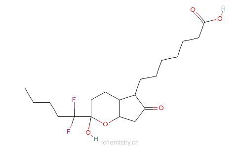 CAS:136790-76-6_鲁比前列素的分子结构