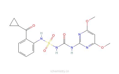 CAS:136849-15-5_环丙嘧磺隆的分子结构
