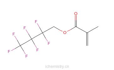 CAS:13695-31-3_甲基丙烯酸-2,2,3,3,4,4,4-七氟代-丁酯的分子结构