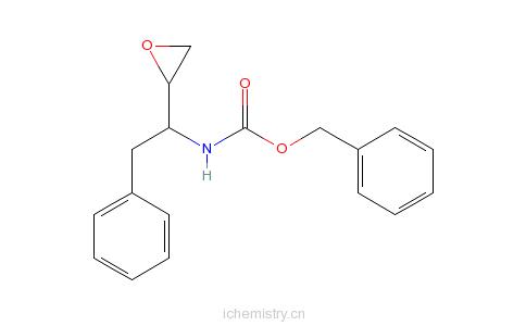 CAS:137515-66-3_(2R,3S)-1,2-环氧-3-苄氧羰基氨基-4-苯基丁烷的分子结构