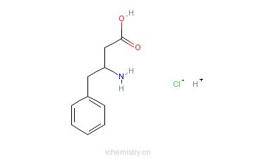 CAS:138165-77-2_(S)-3-氨基-4-苯基丁酸盐酸盐的分子结构