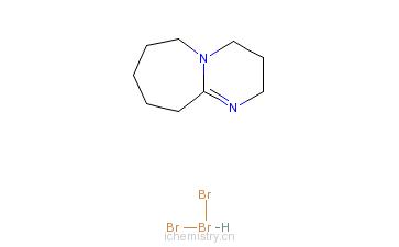 CAS:138666-59-8_1,8-二氮双环[5.4.0]十一烯溴酸盐(138666-59-8)的分子结构