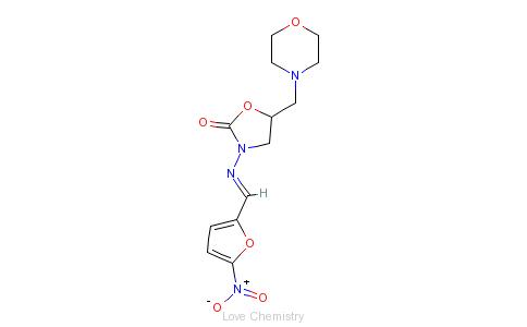 CAS:139-91-3_呋喃他酮的分子结构