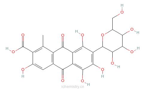 CAS:1390-65-4_胭脂虫红铝的分子结构