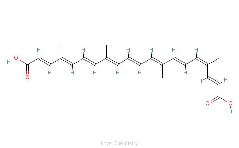 CAS:1393-63-1_胭脂树橙的分子结构
