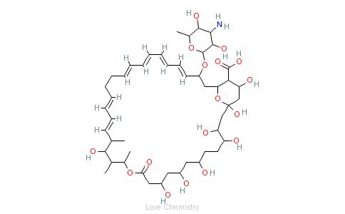 CAS:1400-61-9_制霉菌素的分子结构