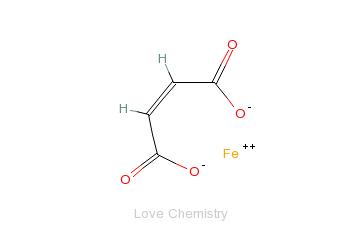 CAS:141-01-5_富马酸亚铁的分子结构