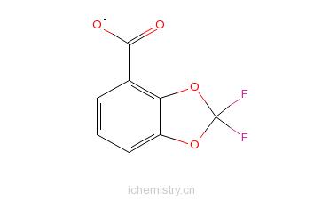 CAS:143096-86-0_2,2-二氟-1,3-苯并二恶茂-4-甲酰氯的分子结构