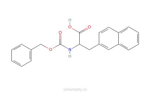 CAS:143218-10-4_Cbz-3-(2-萘基)-D-丙氨酸的分子结构