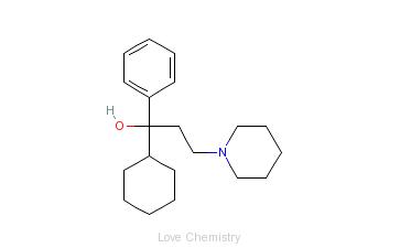 CAS:144-11-6_苯海索的分子结构