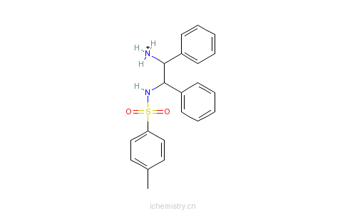 CAS:144222-34-4_(1R,2R)-(-)-N-(对甲基苯磺酰基)-1,2-二苯基乙二胺的分子结构