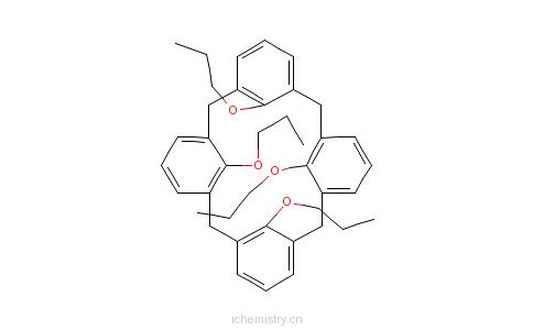 CAS:147782-22-7_25,26,27,28-四丙氧基杯[4]芳香烃的分子结构