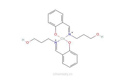 CAS:14843-54-0的分子结构