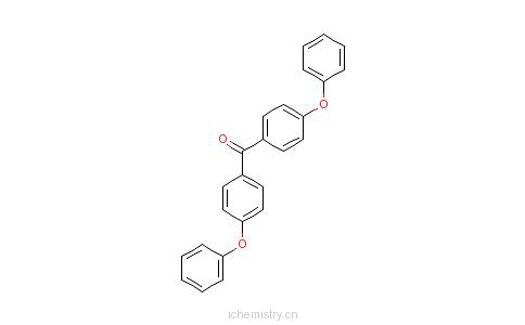 CAS:14984-21-5_4,4'-二苯氧基二苯甲酮的分子结构