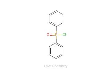 CAS:1499-21-4_二苯基次膦酰氯的分子结构