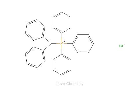 CAS:1530-43-4_氯化二苯甲基三苯基磷的分子结构