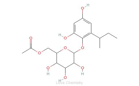 CAS:153120-72-0的分子结构