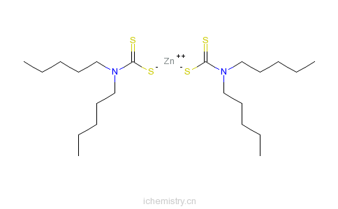 CAS:15337-18-5_二(N,N-二戊基二硫代氨基甲酸)锌的分子结构