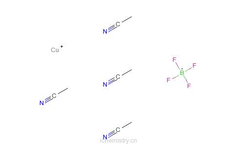 CAS:15418-29-8_六氟磷酸四乙氰铜四氟硼酸盐的分子结构