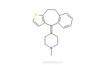 CAS:15574-96-6_苯噻啶的分子结构
