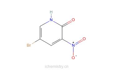 CAS:15862-34-7_5-溴-2-羟基-3-硝基吡啶的分子结构