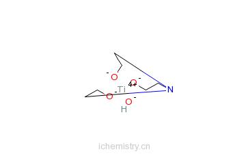 CAS:15879-01-3_2,2',2''-次氮基三乙基钛酸酯的分子结构
