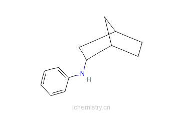 CAS:15995-50-3_N-苯基-2-氨基降冰片烷的分子结构