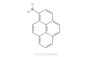 CAS:1606-67-3_1-氨基芘的分子结构