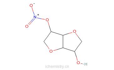 CAS:16106-20-0_异脱二水山梨醇-2-硝酸酯的分子结构