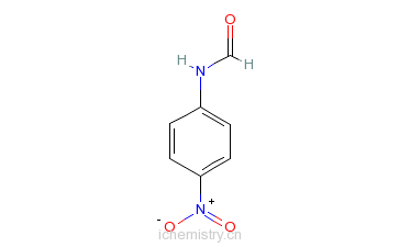 CAS:16135-31-2_N-(4-硝基苯基)甲酰胺的分子结构
