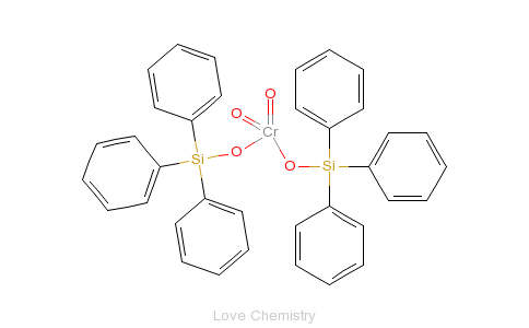 CAS:1624-02-8_铬酸双(三苯甲基硅烷基)酯的分子结构