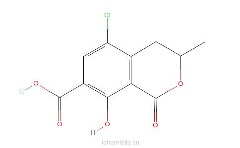 CAS:16281-39-3的分子结构