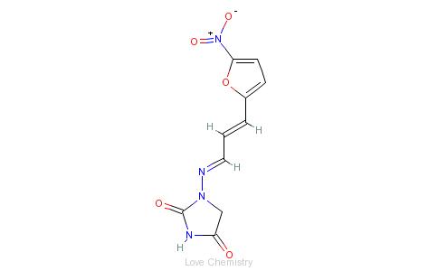 CAS:1672-88-4_呋喃烯啶的分子结构