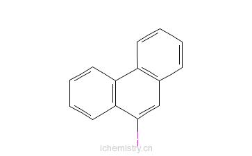 CAS:17024-12-3_9-碘菲的分子结构