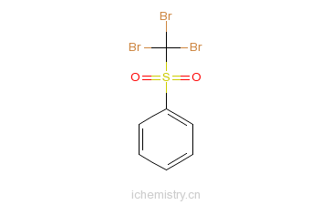 CAS:17025-47-7_三溴甲基苯砜的分子结构