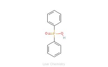 CAS:1707-03-5_二苯基磷酸的分子结构