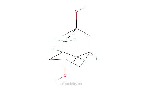 CAS:17071-62-4_1,3-金刚烷二甲醇的分子结构