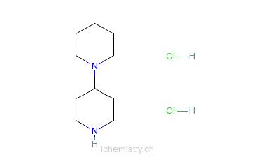 CAS:172281-92-4_4-哌啶基哌啶盐酸盐的分子结构