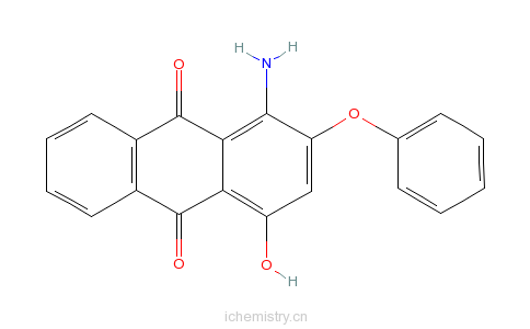 CAS:17418-58-5_分散红60的分子结构