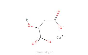CAS:17482-42-7_苹果酸钙的分子结构