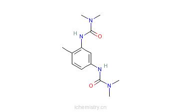 CAS:17526-94-2_N,N''-(4-甲基-1,3-亚苯基)双[N',N'-二甲脲的分子结构