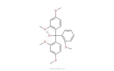 CAS:1755-51-7_五甲氧基红的分子结构