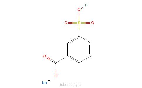 CAS:17625-03-5_3-羧基苯磺酸钠的分子结构