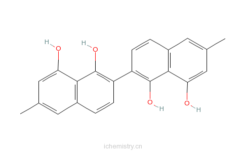 CAS:17667-23-1_柿酚的分子结构