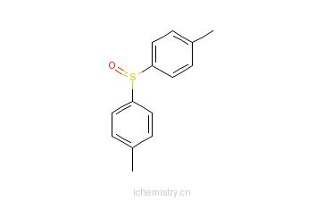 CAS:1774-35-2_4,4'-二甲苯亚砜的分子结构