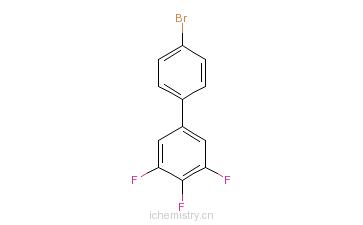 CAS:178820-38-7_4'-溴-3,4,5-三氟联苯的分子结构